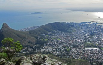 Birdseye View of Cape Town
