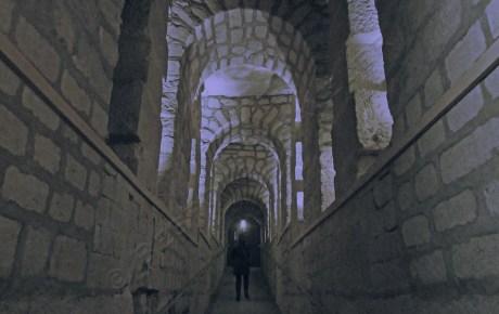 Paris catacomb silhouette