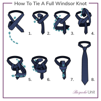 how to tie necktie full windsor knot instructions how to