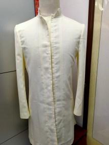 Bespoke suit - muslin fitting