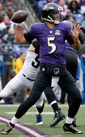 Ravens QB Flacco