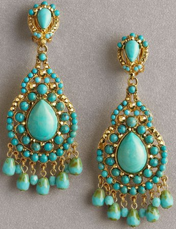 Turquoise is classic yet funky