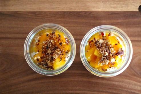 Mango-Haselnuss