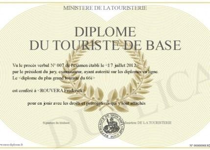 TOURISTE DE BASE