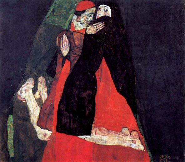 Le cardinal et la nonne