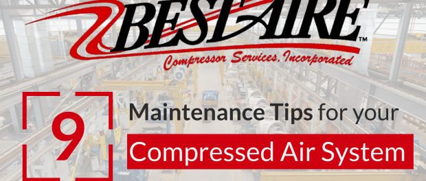 9 Air Compressor Maintenance Tips