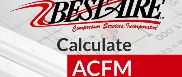 SCFM to ACFM Calculator