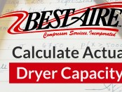 Size your compressed air dryer