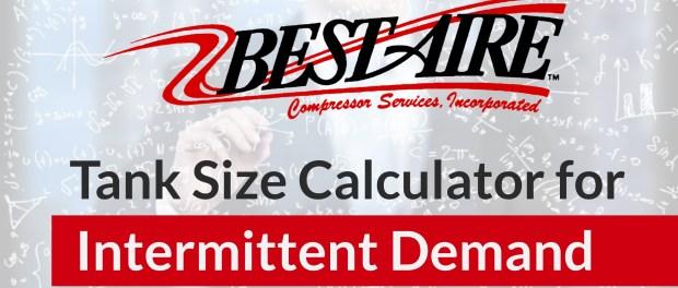 Air Compressor Receiver Tank Calculator