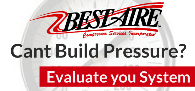 Air Compressor Cant build or maintain pressure