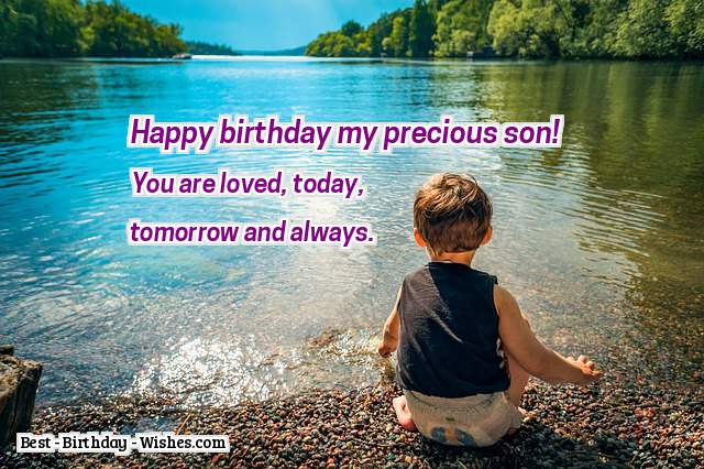 85 Birthday Wishes For Sons