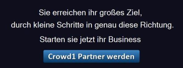 Crowd1 Partner werden