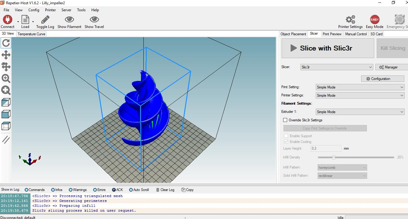 hight resolution of 3d printing programs