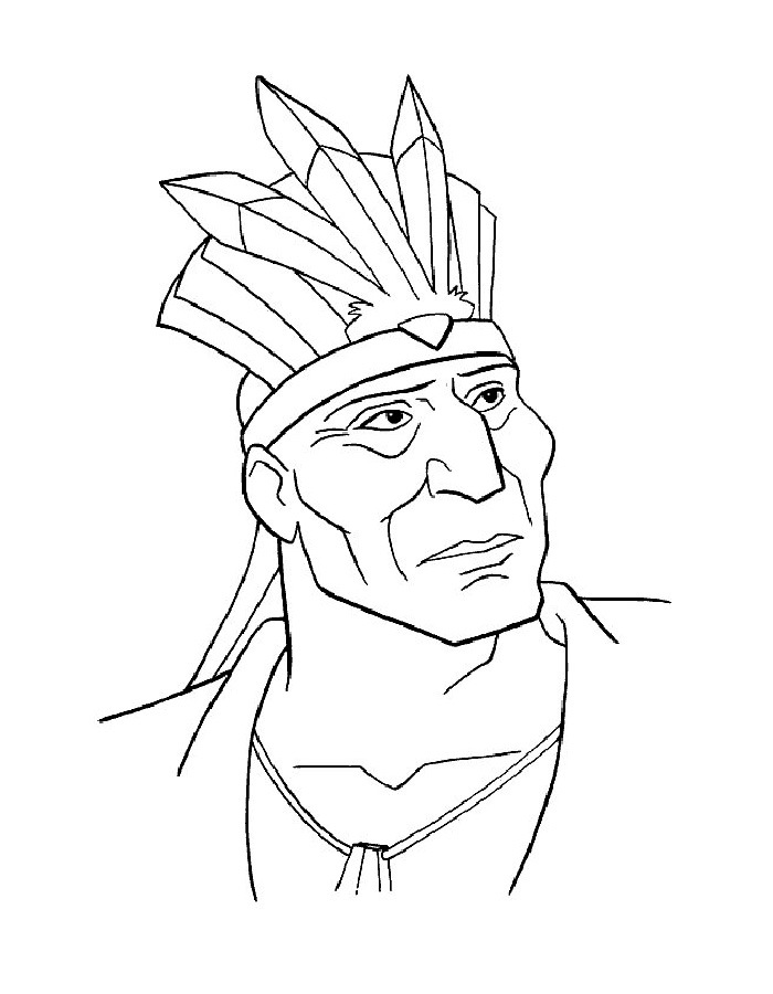 DisneyPocahontas coloring pages