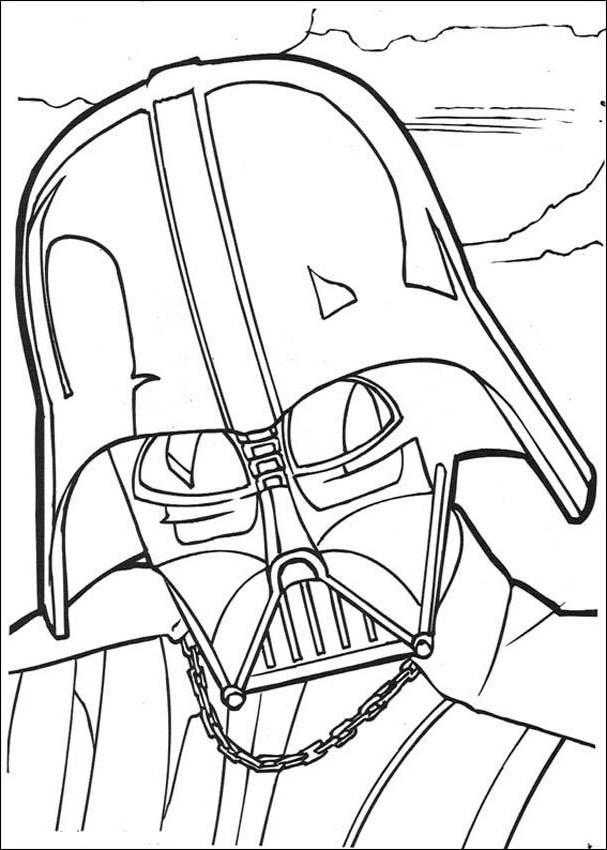 Darth Vader Darth Vader Coloring Page Coloration