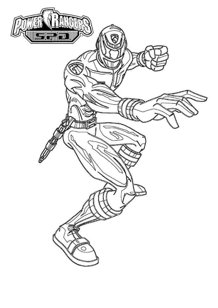 Power Rangers Samurai coloring pages