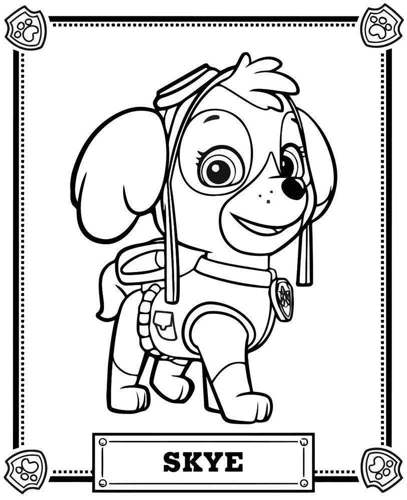 Patrol Coloring Pages