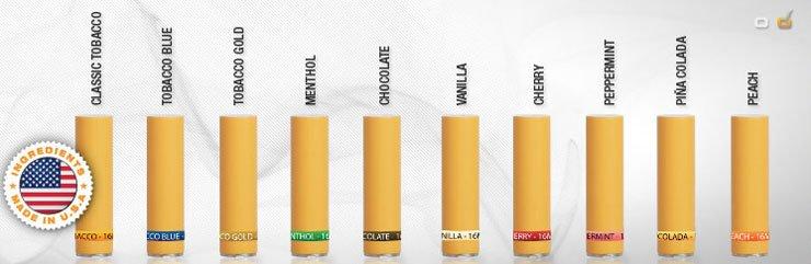 South Beach Smoke has ten filter flavors