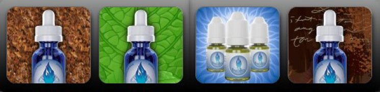 BEST TASTING E-CIGARETTE CARTRIDGE FLAVORS Halo Cigs eLiquid Sample Pack