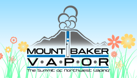Mt. Baker Diacetyl free eliquids