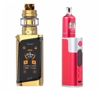 SMOK Morph and Aspire Zelos TC vaporizers