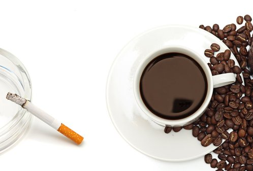 nicotine vs caffeine