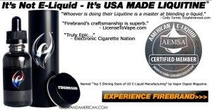 Firebrand Liquitine E-Liquid