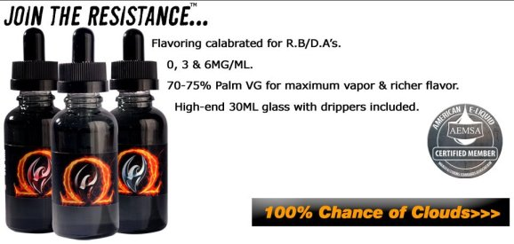 Firebrand E-Liquids SubOhm