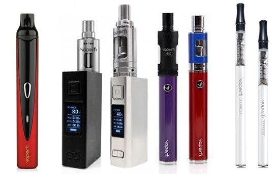 Vaporfi ecgs and vaporizers