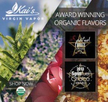 Kai's Virgin Vapor Organic eLiquids