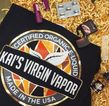 Kai's Virgin Vapor eliquids - best e-cigarette guide
