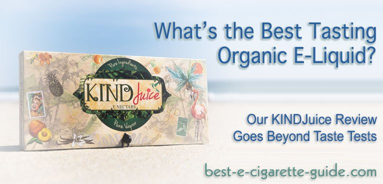 KINDJuice Organic ELiquid review