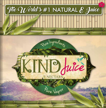 KINDJuice natural logo