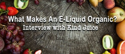 Interview with Kind Juice | featured image - fruits on tree stump | best-e-cigarette-guide.com