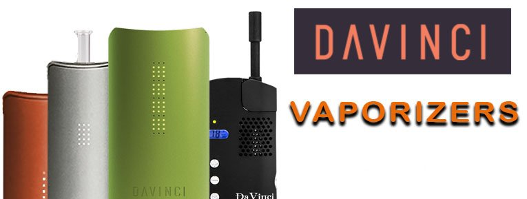 Davinci Vaporizers showing all styles