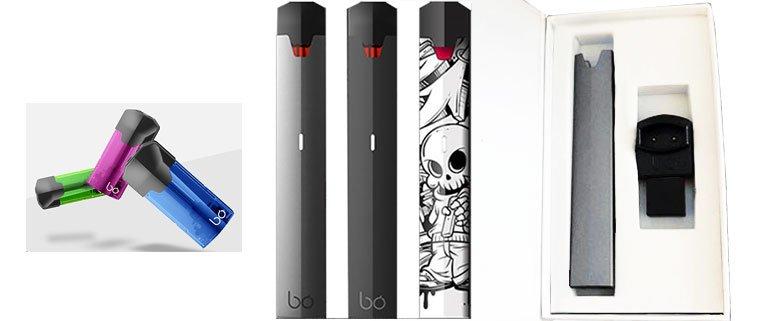 Bo One vape pen plus kit and pods