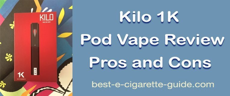 Kilo 1K Pod Vape Review Pros and Cons