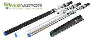 MIG Vapor Review - vape pens and vape pods - best-e-cigarette-guide.com