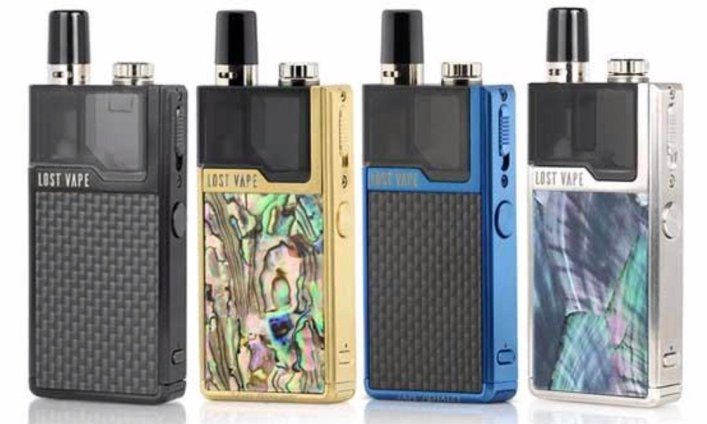 4 Lost Vape Orion 40W DNA Go colors