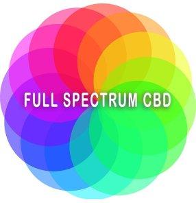Full Spectrum CBD color wheel