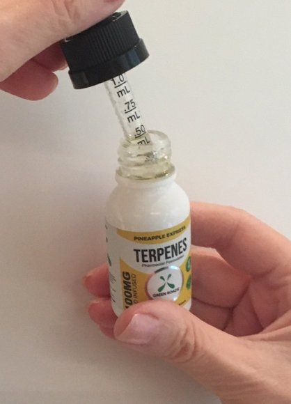 Green Roads Terpenes wih dropper