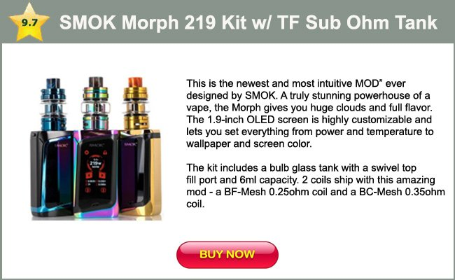 SMOK Morph 219 Vape Mod - One of the 5 best