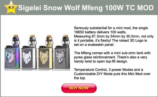Sigelei Snow Wolf Mfeng 100W TC mini mod
