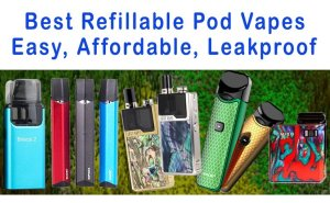 Best Refillable Pod Vapes Featured Image