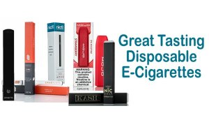 reat Tasting Disposable E-Cigarettes Featured Image