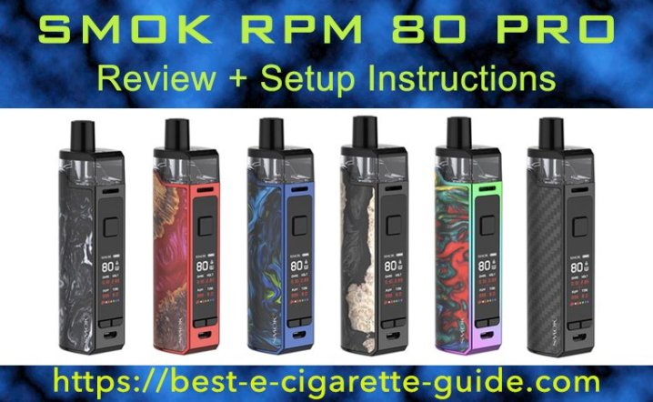 SMOK RPM 80 PRO Review Title Image