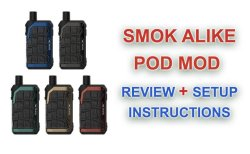 SMOK Alike Pod Mod Review Featured image