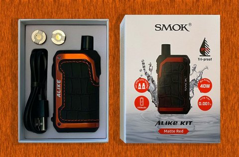 SMOK Alike box open