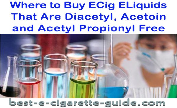 Where to Buy Eliquids that are Diacetyl Free-title image