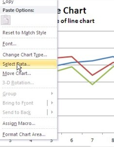 Excel line chart select data also best tutorial rh